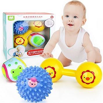 Bebe traje bebé mano agarrando la formación la pelota niño ...