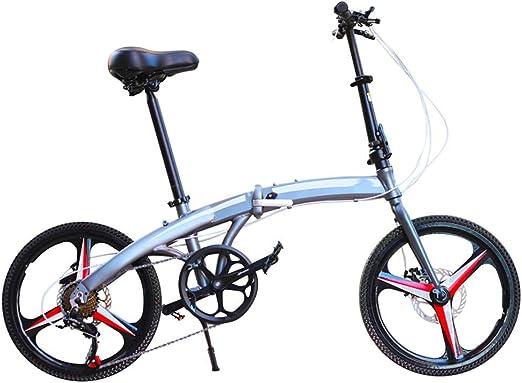 Kiyte Bicicletas Plegables Livianas para Adultos, Bicicleta de ...