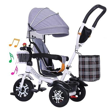 HBSC Triciclo para niños Baby Trike Triciclo bebé Trike1-3-6 ...