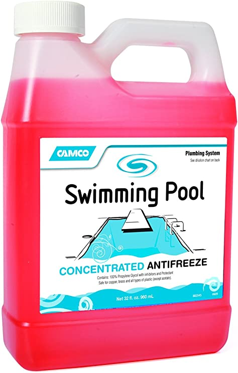 Camco 30054 Pool Antifreeze Concentrate - 1 qt.