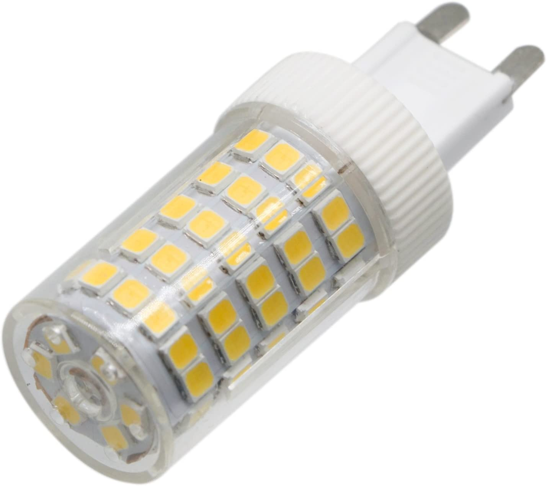 5PCS CNBEAU-LED Dimmable G9 LED Light Bulbs 10W 86LED 2835SMD 850-950 Lm Warm White//Cool White//Natural White LED Ceramics Lamp AC 220-240V Size : Cold White