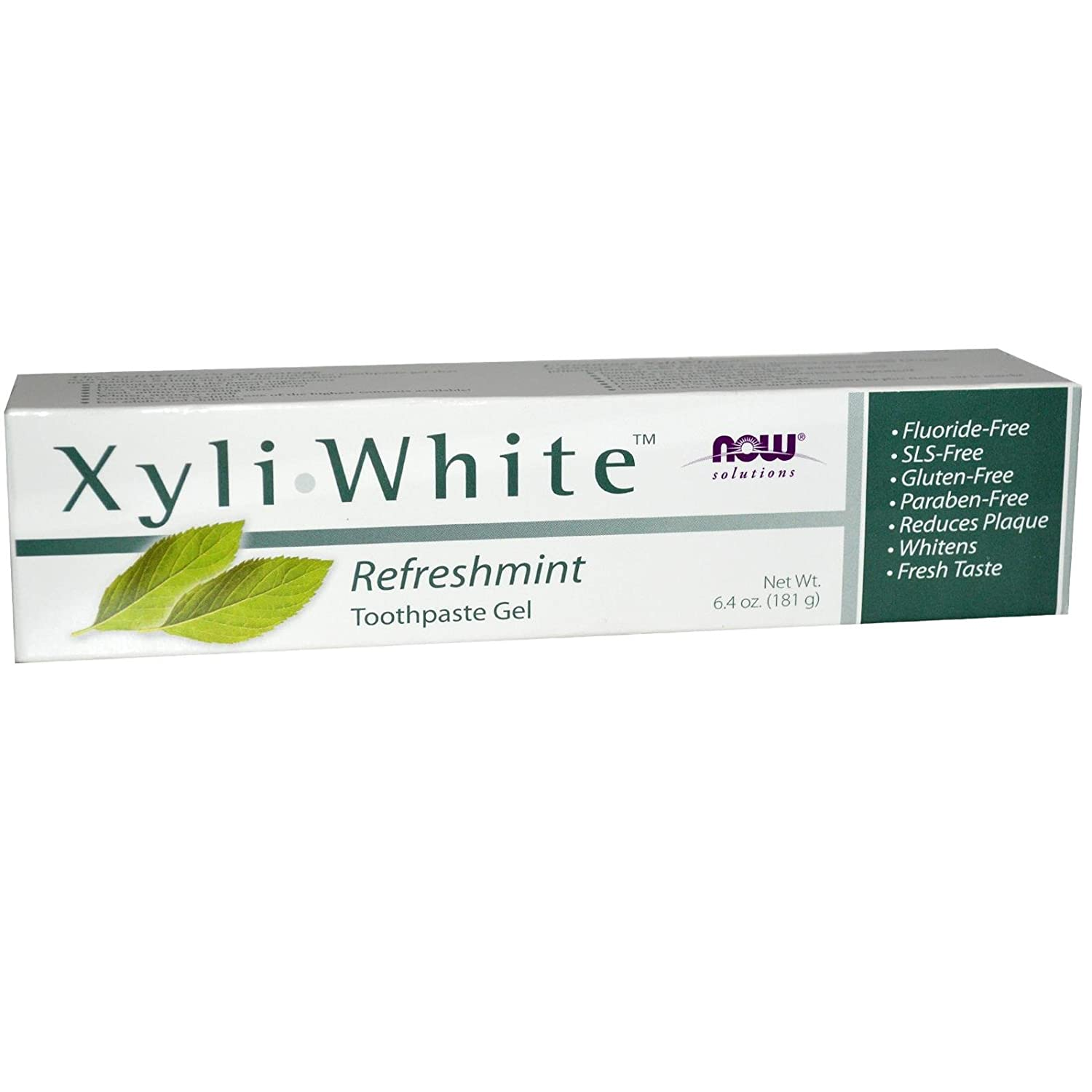 Now Foods: Xyliwhite Refreshmint Toothpaste, 6.4 oz (2 pack)