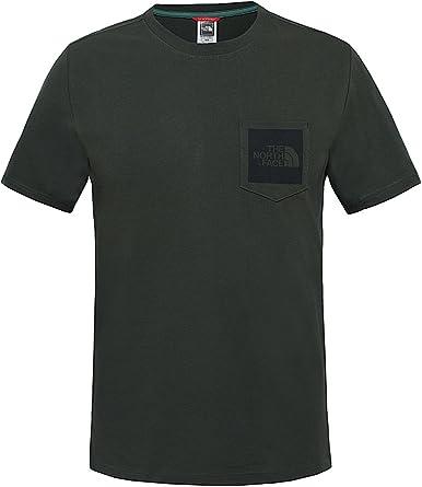 The North Face M S/S Fine Pocket tee Camiseta de Manga Corta, Hombre: Amazon.es: Ropa y accesorios