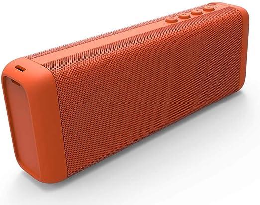 Altavoz Bluetooth InaláMbrico PortáTil 10w Caja Se Sonidos Altavoz EstéReo Bajo Subwoofer + Doble Unidad + Sonido Envolvente 3D para Coche, Hogar, Viajes Al Aire Libre Azul/Rojo/Naranja: Amazon.es: Hogar