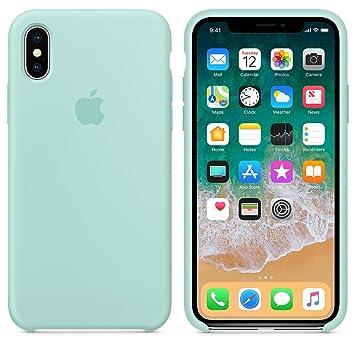aa2758839a0 El último Verano Funda iPhone X, Slim Líquido de Silicona Gel Carcasa  Anti-Rasguño