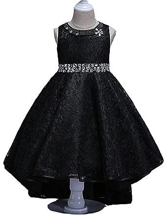 Amazon Mocoshop Girl Dress Kids Ruffles Lace Party Wedding