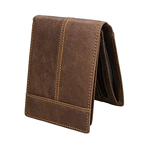 Wuxingqing-Bag Billetera De Cuero para Hombres Billetera de ...