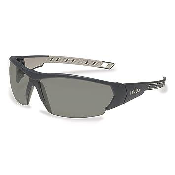 uvex i-works 9194 Unisex Brille EN 166 mit UV-Schutz + Mikrofaserbeutel - Sonnenbrille Schutzbrille Sportbrille Arbeitsbrille Radbrille (grau/verspiegelt) ea6pJKn