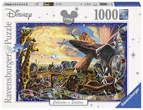 Ravensburger Disney Collector's Edition Lion King 1000pc Jigsaw Puzzle ()