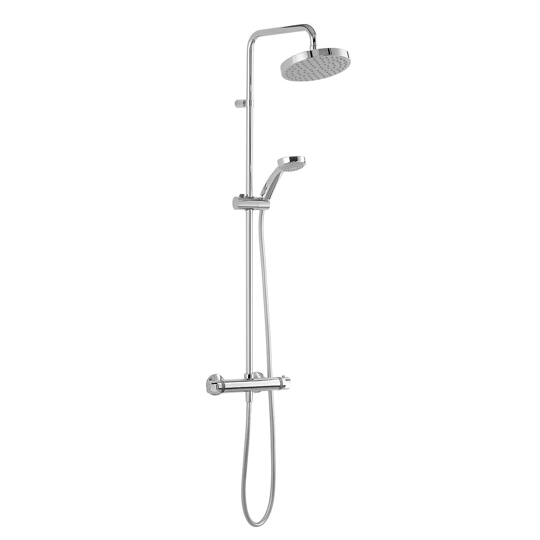 Thewa – Columna de ducha – Conjunto de ducha Mizu termostático ...
