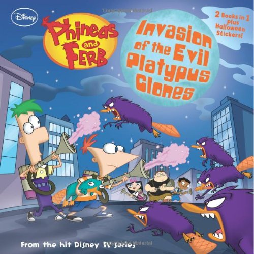 Phineas and Ferb Invasion of the Evil Platypus Clones / Night of the Giant Floating Baby Head -