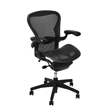 herman miller aeron chair size b amazon co uk kitchen home