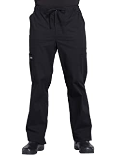 89f3eca4a00 Cherokee Workwear Professionals Men's Tapered Leg Drawstring Cargo Scrub  Pant