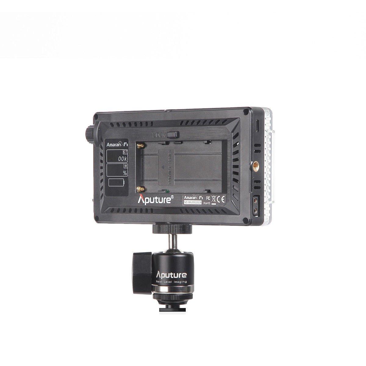 Aputure Amaran AL-F7 3200-9500K CRI/TLCI 95 LED panel LED video camera light (Aputure H198 Upgrade Version) with DigiKit cleaning cloth by Aputure (Image #7)