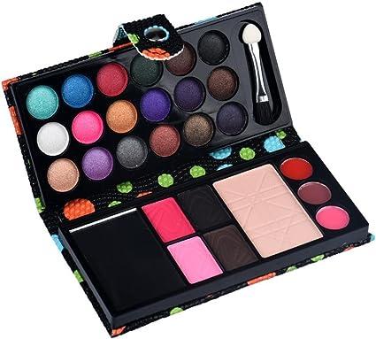 winwintom Paleta de Sombras Mate Profesional, 26Colores Paleta de Maquillaje de Sombras de Ojos Cosmética de Blush Polvo de Brillo de Labios (Color_1): Amazon.es: Ropa y accesorios