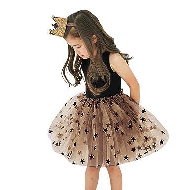 44f460d1b99006 Enfant en Bas âge Bébé Filles Princesse Robe Tutu Tulle Robe D'été ...