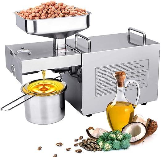 IDABAY Máquina de Prensa de Aceite, Electrónica Automática 750 W ...