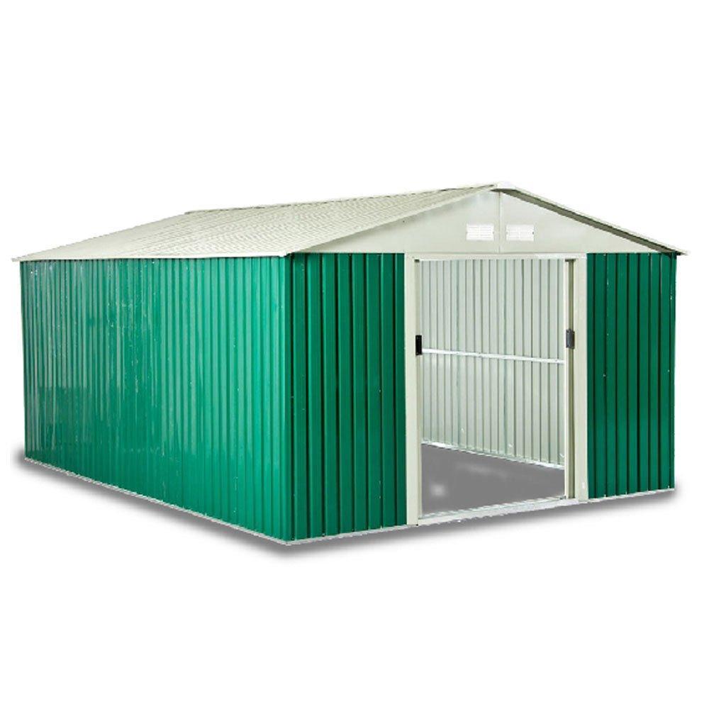 Box casetta in lamiera zincata con struttura in acciaio zincato mt ...