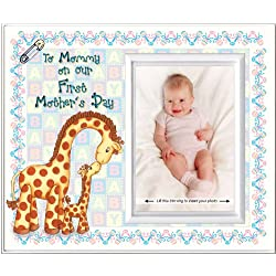 To Mommy on Our First Mother's Day - Picture Frame Gift