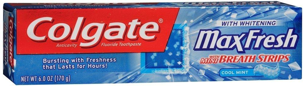 Colgate Mx Frsh Tpst Cl Mnt 6z,Colgate-Palmolive Co,76452