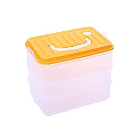 Contenedores de almacenamiento de alimentos de triple capa con ...