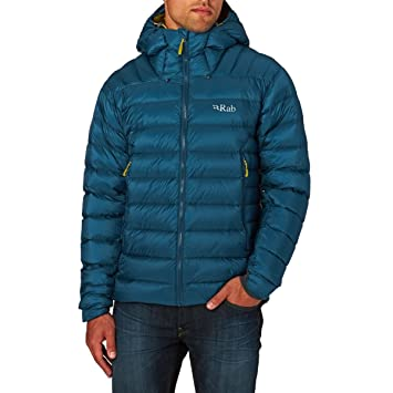plus récent bbbb7 43a57 RAB MENS ELECTRON JACKET INK/MIMOSA (X-LARGE): Amazon.fr ...