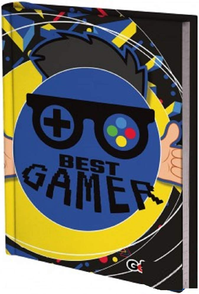 Diario Scuola Gopop Best Gamer Non Datato 10 Mesi Formato 20x14 cm Penna Colorata Omaggio