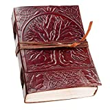 Leather Journal Notebook Diary Handmade Vintage Writing Bound Cover New Sketchbook Brown Retro Pages
