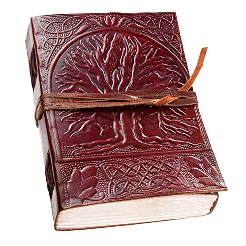 Leather Journal prime clearance sale Notebook Diary Handmade Blank Book Vintage Writing Bound Cover New Sketchbook Brown Retro Pages Travel Paper Line…