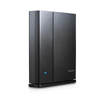 5c29b6ad87 エレコム WiFi 無線LAN ルーター 11ac ac1900 1300+600Mbps IPv6対応 トレンドマイクロセキュリティ 3階