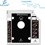 ele-gate Caddy Case HDD Universal Unidad CD Laptop Disco Duro 9.5mm/e