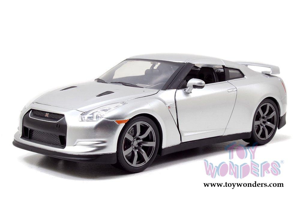 97212 Jada Toys Fast & Furious – Brian 's Nissan Gt rハードトップ97212 1 /24スケールDiecastモデルCar車i453oya5モデルayn41465 C0 dpaka23 97212 Jada Toys Fast & Furious – Brian 's NISS B016D448EA
