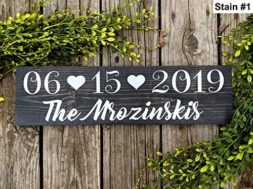 Save The Date Signs For Engagement Photos. Wedding Date Sign. Rustic Wedding Signs For Engagements ()