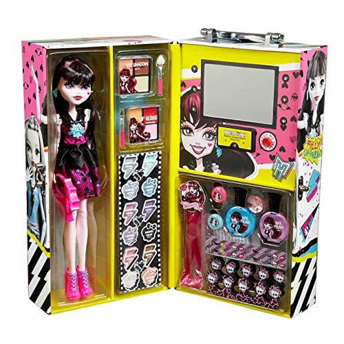 Monster High Draculaura Fashion Doll Case with 57 pcs Ghoul Beauty Collection