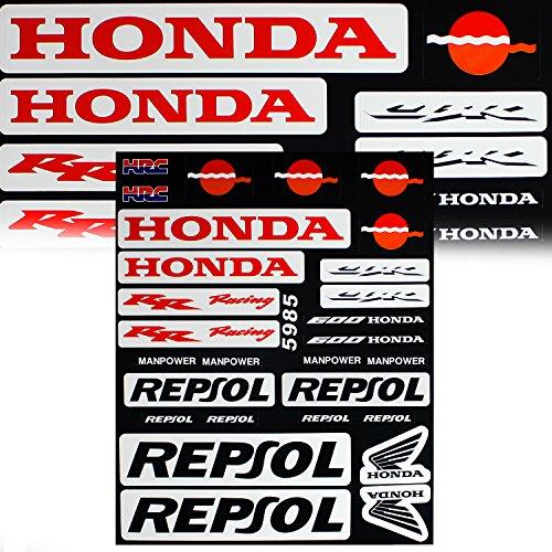 Automotive Racing Sponsor Logo Decal Sticker Motorcycle / Dirt Bike / ATV for (Honda Bike Decals)