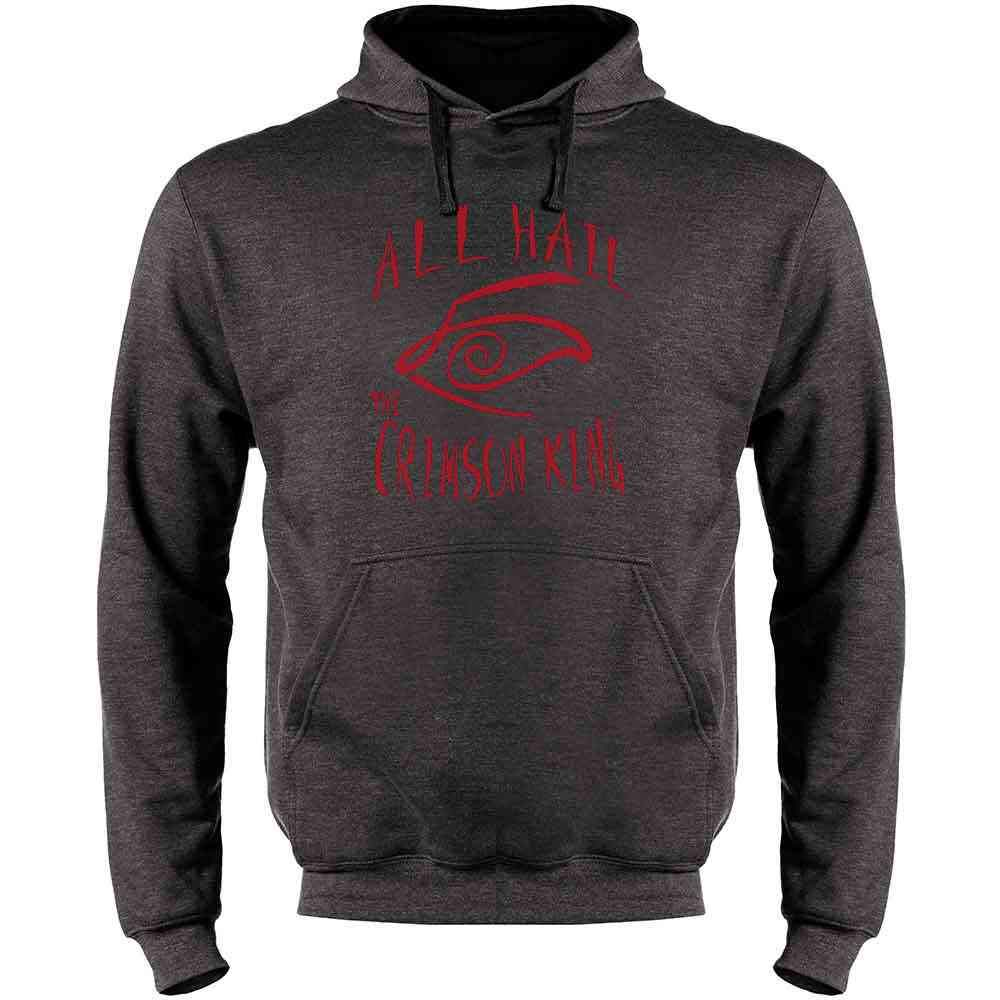All Hail The Crimson King Mens Fleece Hoodie Sweatshirt