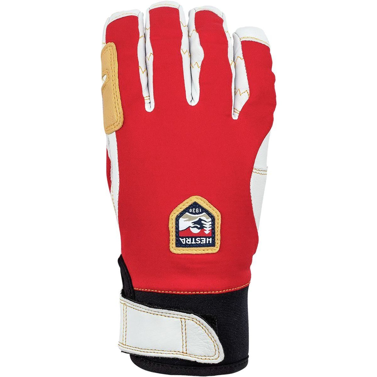 Hestra Ergo Grip Active 5 Finger ROT/OffWeiß