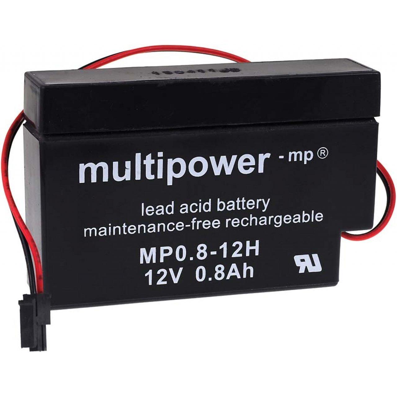 12/V /Batteria al piombo per motore per tapparelle Multipower/ 0,8/Ah