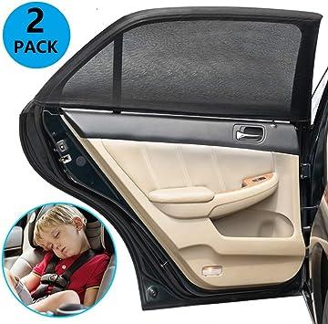 Goldge 2pcs Sonnenschutz Auto Baby Mit Uv Schutz Sonnenschutz Auto Uv Schutz Für Kinder Baby Erwachsene 110x50cm Auto