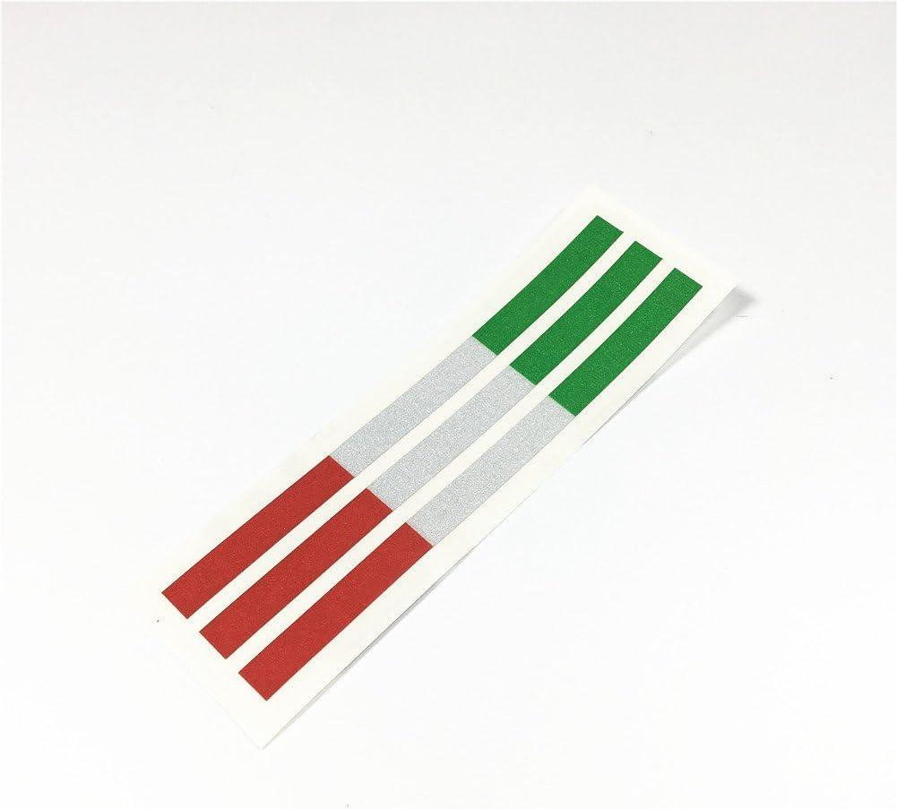 Italy Italia Italian Flag Decal Sticker Vinyl reflective glossy pick size