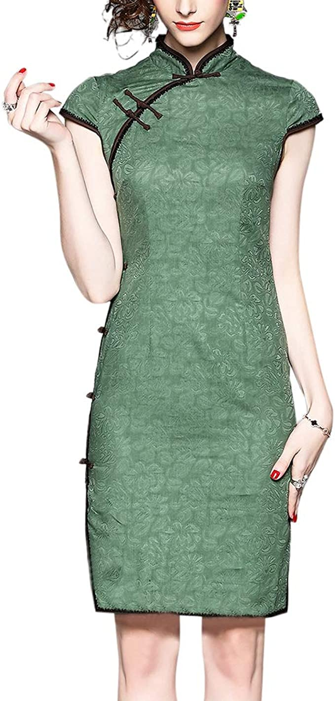 Interact China Chinesisches Kleid Qipao Modernes Schickes