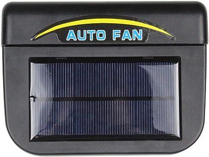 Ventilador universal de ABS con energía solar para ventana de auto ...