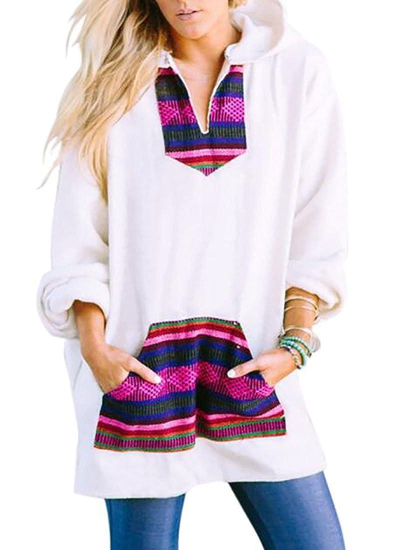 WANSHIYISHE-Women Comfy Striped Print Gym Long Sleeve Tops Sweatshirt