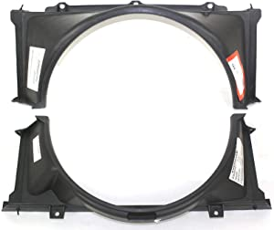 Fan Shroud Compatible with CHEVROLET S10 Pickup 1982-1993 Radiator Upper and Lower 2.8L