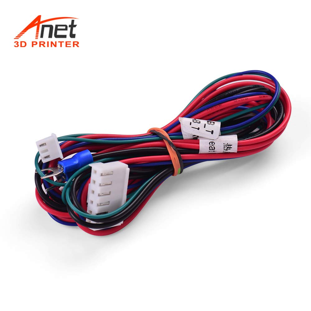 Aibecy Anet 18AWG Mejora Cable de cama caliente Línea de cama ...