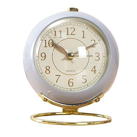Relojes de mesa Sala de Estar Decoración Dormitorio Relojes de ...