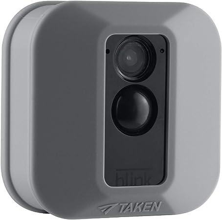 Jessy Silikon Schutzhülle Für Blink Xt Xt2 Überwachungskamera Kratzfest Uv Und Witterungsbeständig 1 Stück Grau Elektronik