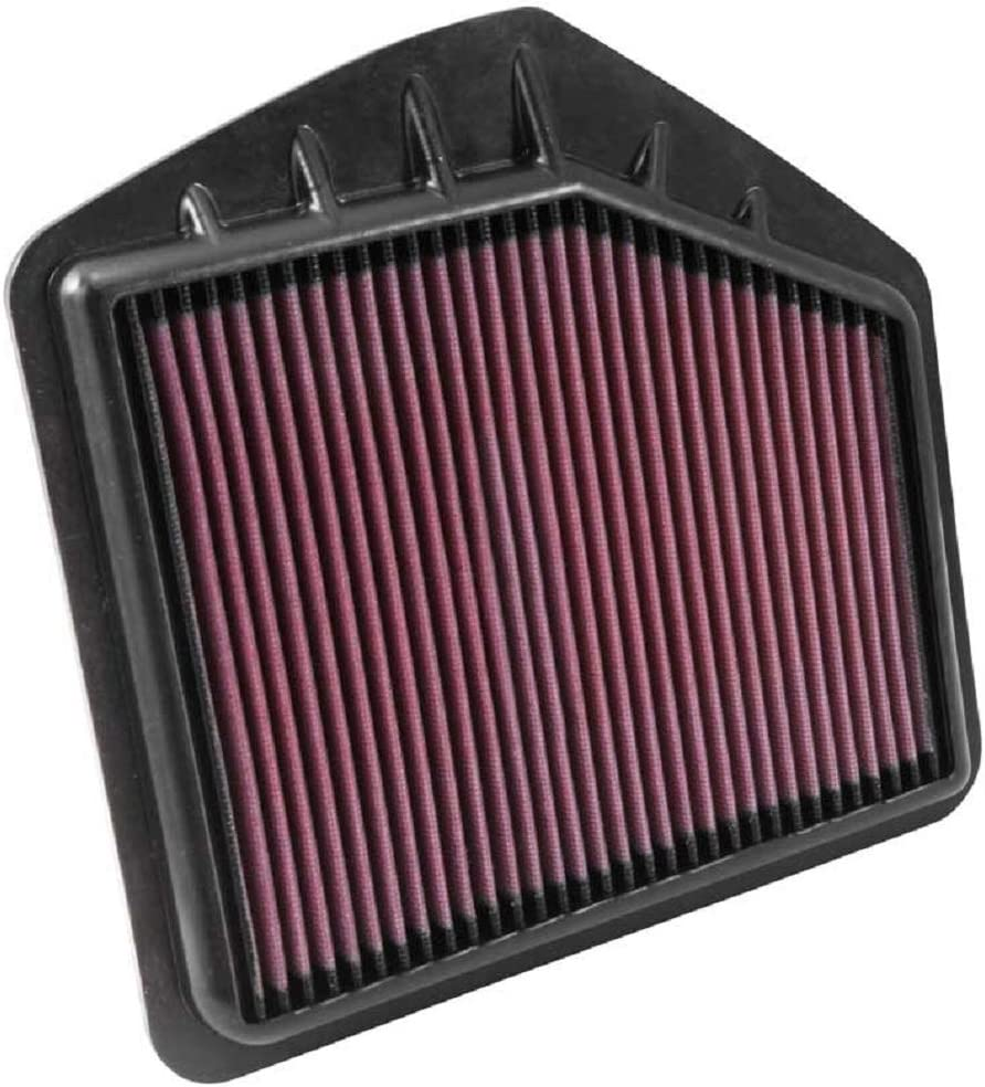 K&N Engine Air Filter: High Performance, Premium, Washable, Replacement Filter: 2015-2019 GENESIS/HYUNDAI (G80, G90, Genesis), 33-5021