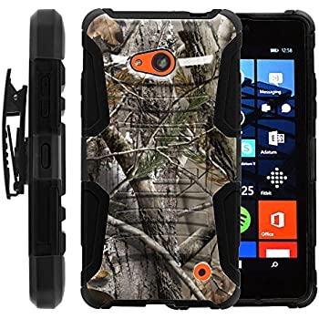 For Nokia / AT&T GoPhone Microsoft Lumia 640 /ITUFFY 3items Combo: LCD  Screen Protector Film+Stylus Pen+ Dual Layer Impact Resistance Hybrid Armor