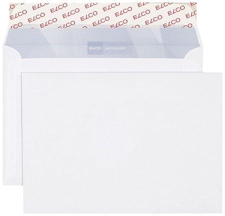 Elco 30736 Premium Briefumschlag B6 100 G Weiß Amazonde